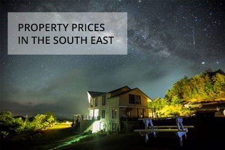 Property prices in the South East