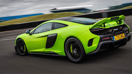 Mclaren 675LT - green