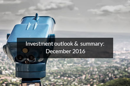 Investment Outlook - December 2016