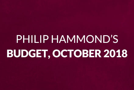 Gibson Lamb Report: Philip Hammond's Budget, October 2018