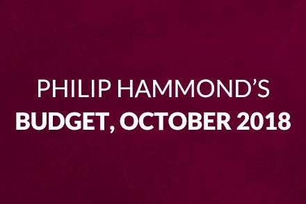 Gibson Lamb Report: Philip Hammond's Budget, October 2018