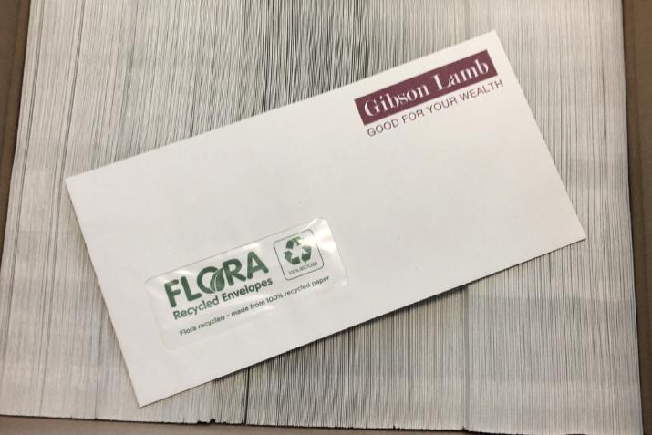 Our new envelopes!