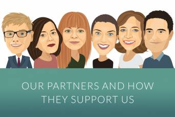 Our partners and how they support us